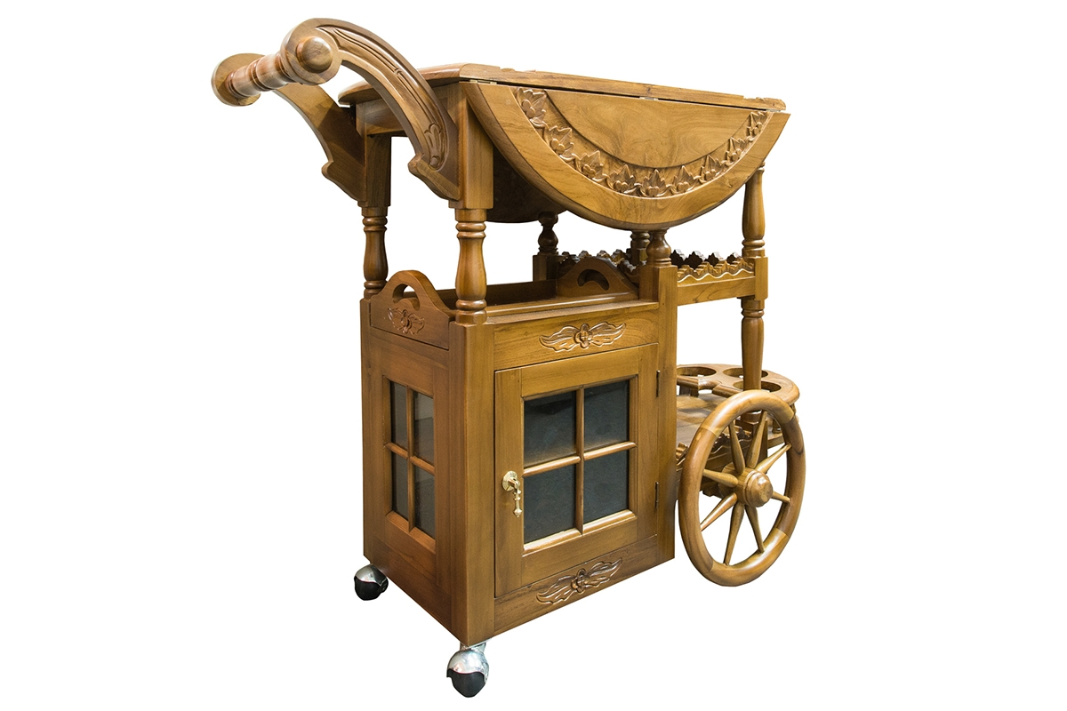 Pastry Bar Cart